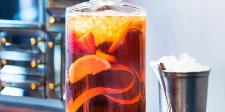 Une boisson au Pimm's et à la limonade : le Pimm's cocktail