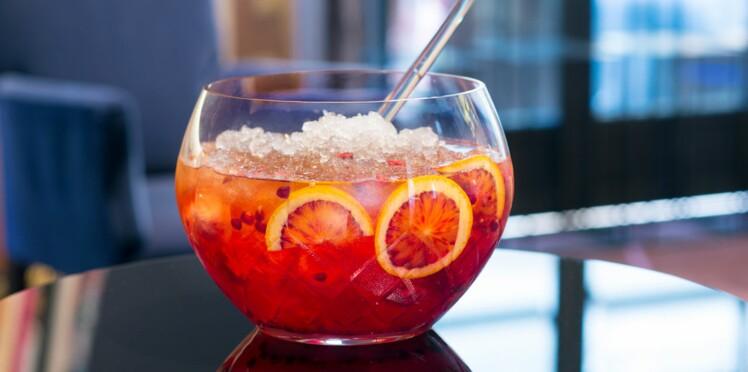 Un cocktail tequila cranberry : le Rubiji