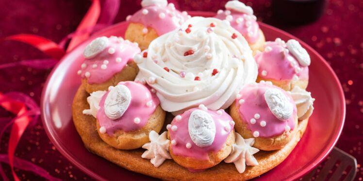 Gâteau bijou : le Saint-Honoré à camées