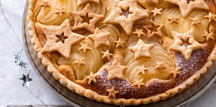 Une tarte étoilée pour Noël
