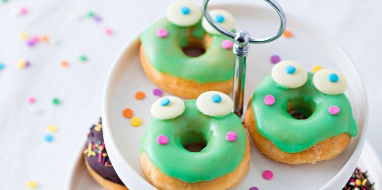 Mardi Gras : des donuts grenouilles pour les enfants
