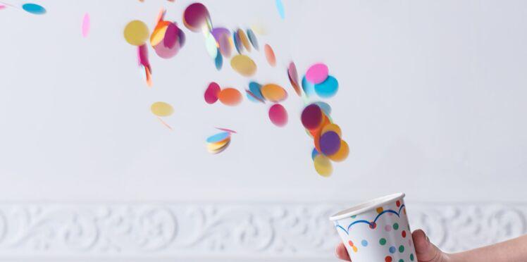 Je crée une bombe à confettis pour Mardi Gras
