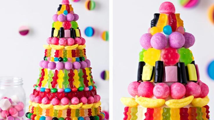 Gâteau de bonbons : comment surprendre pour son anniversaire