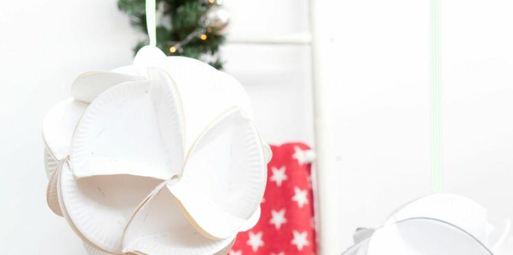 Je crée des boules à facettes pour ma déco de Noël