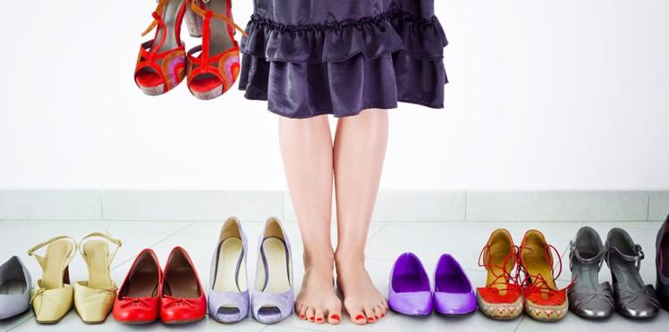 Montre-moi quelles chaussures tu portes...