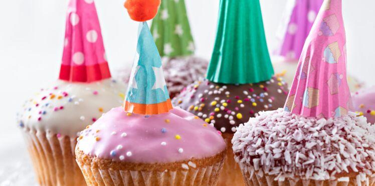 Des cupcakes de fêtes pour Mardi Gras