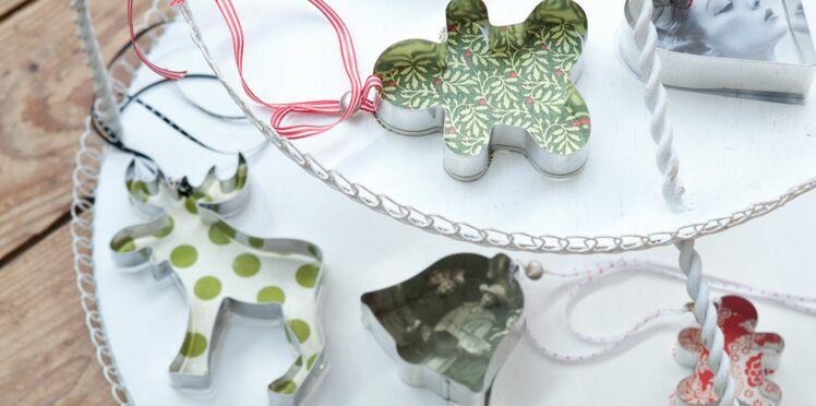 Des décorations de Noël en emporte-pièces