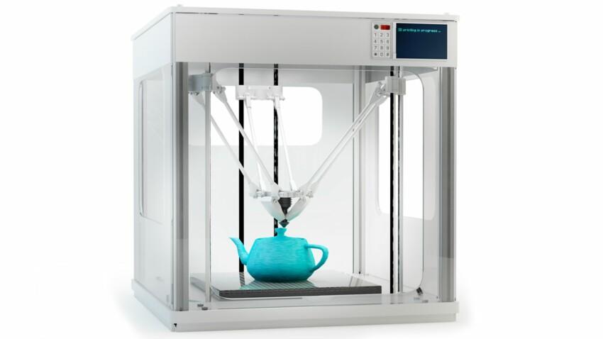 L'imprimante 3D, comment ça marche ?