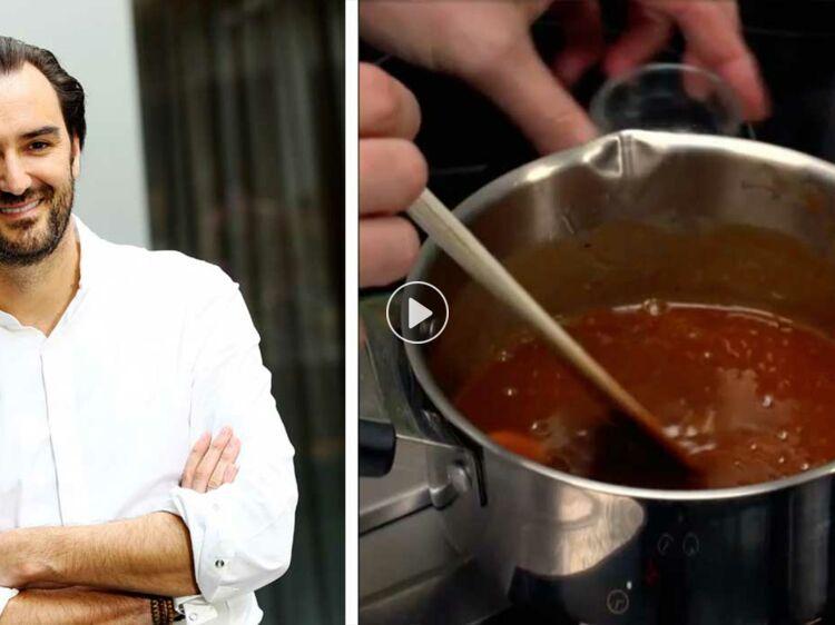Incroyable Recette Caramel Beurre Salé Cyril Lignac la recette du caramel mou de cyril lignac : femme actuelle le mag