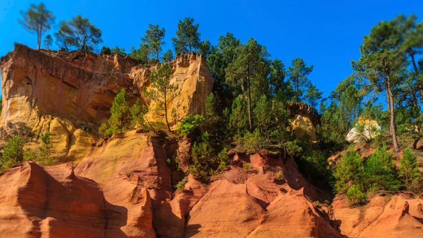 Le Luberon, étonnant Colorado provençal