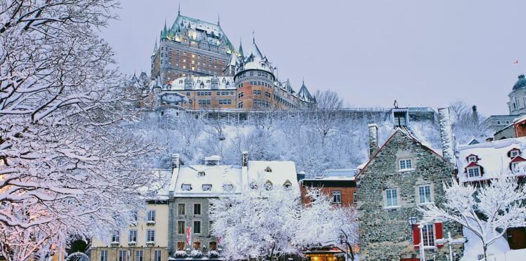 On décolle... direction Québec