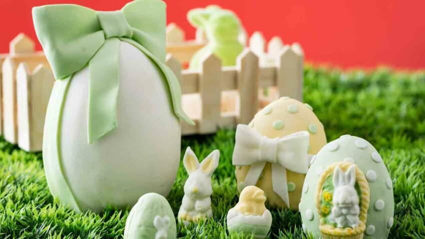 Des gâteaux oeufs de Pâques
