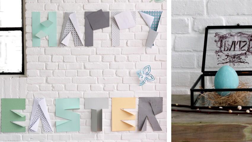 Pâques : des messages 3D pour mes murs