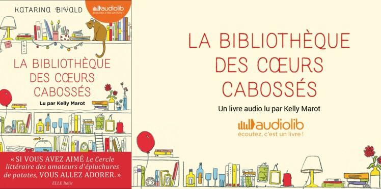 """Découvrez Audiolib et gagnez """"La bibliothèque des cœurs cabossés"""""""