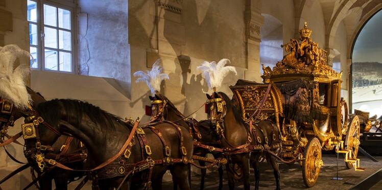 Versailles : la renaissance de la galerie des carrosses