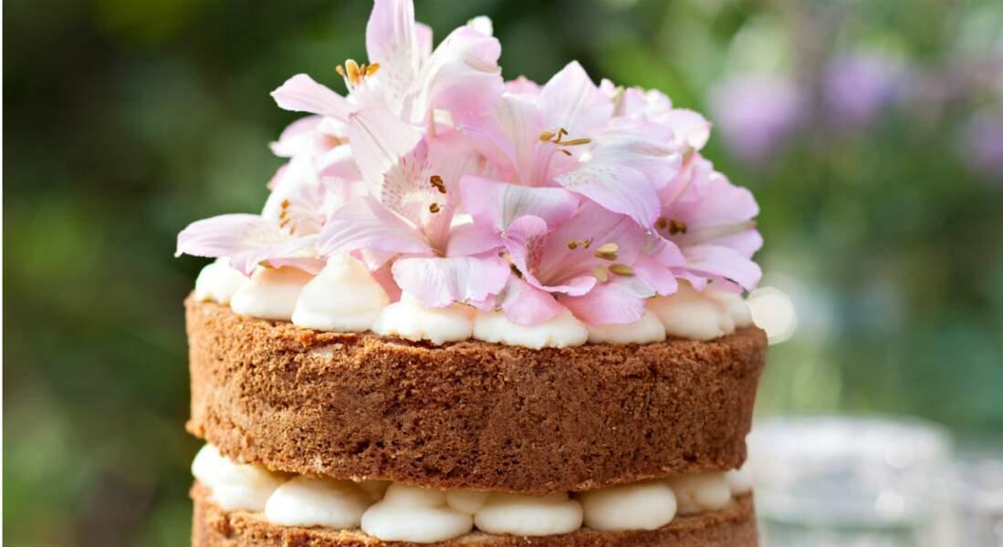 Naked layer cake