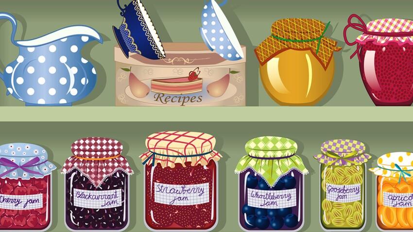 Confitures maison : où trouver de jolis pots et des étiquettes pas chers ?