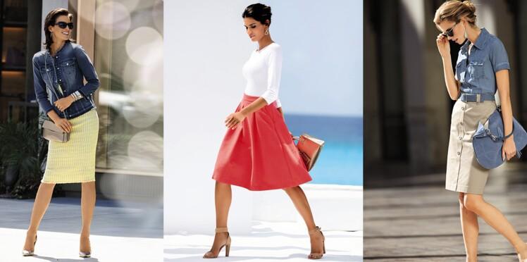 defdc8f3998870 Bien porter la jupe après 50 ans : Femme Actuelle Le MAG