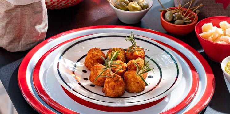 Boulettes arancini de Sicile
