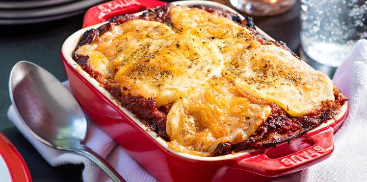 Lasagnes aux légumes grillés