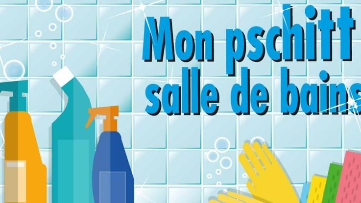 Ménage au naturel : un spray pour la salle de bain