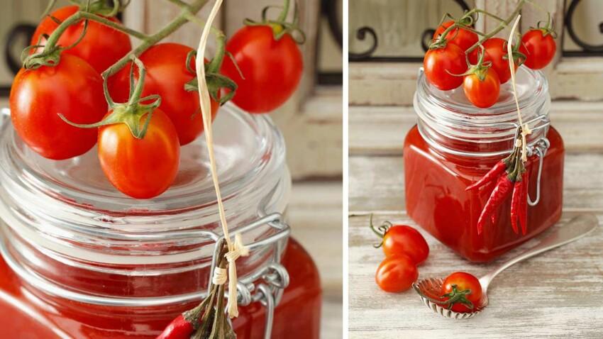 Sauce pimentée aux tomates cocktail