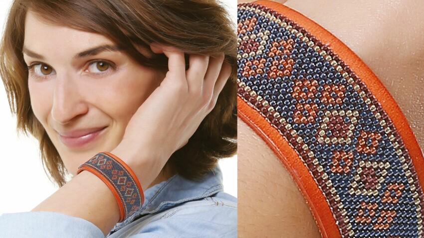 Le bracelet en tissage peyote