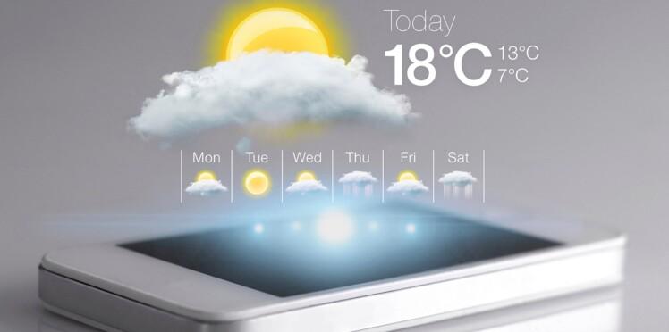 Le top 5 des applis météo