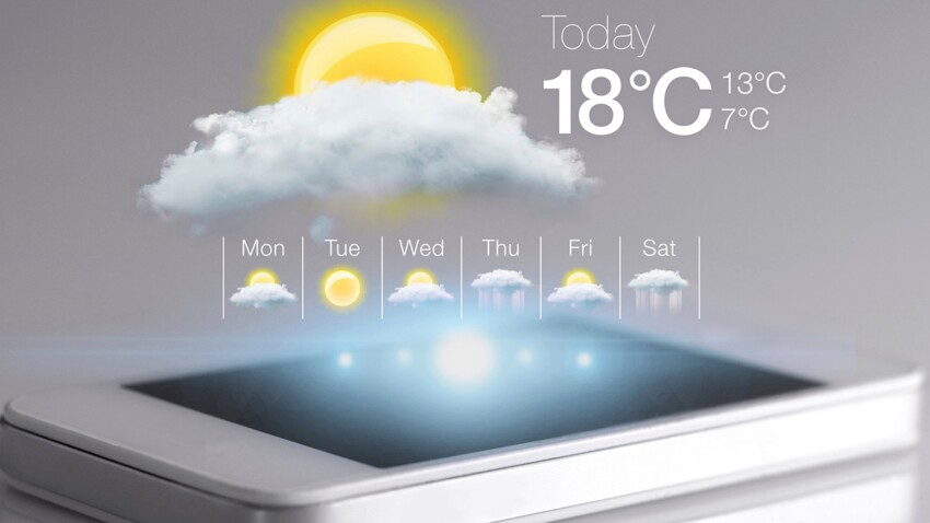 5 applis pour suivre la météo