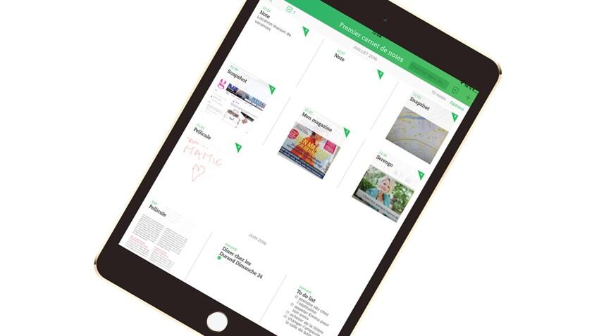 Evernote, le calepin virtuel pour tout organiser