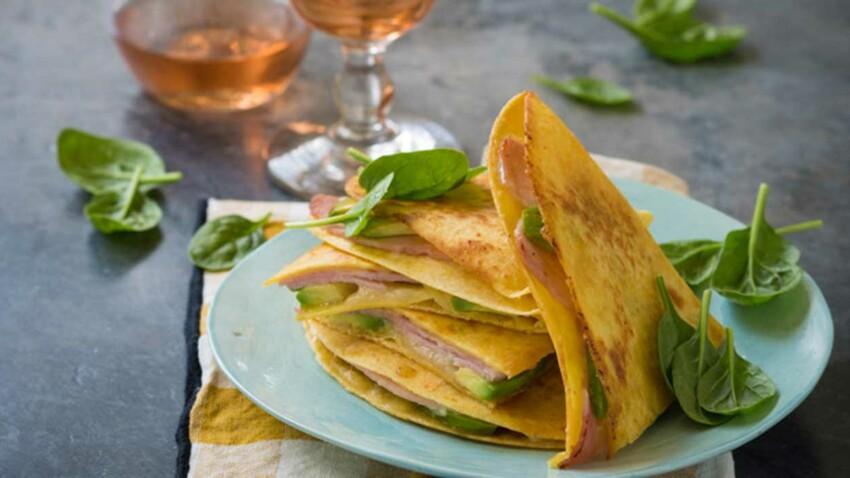 Galettes de maïs façon tacos