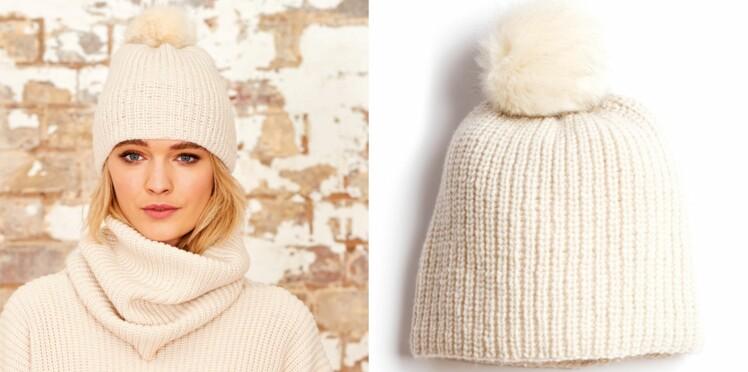 style distinctif fournir beaucoup de sélectionner pour le dédouanement Le bonnet ivoire en cotes perlées : Femme Actuelle Le MAG