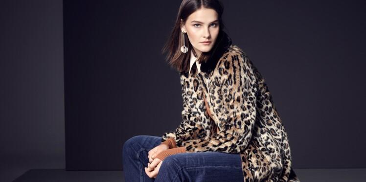 b33beddb027bdc Bien porter le léopard après 50 ans : Femme Actuelle Le MAG