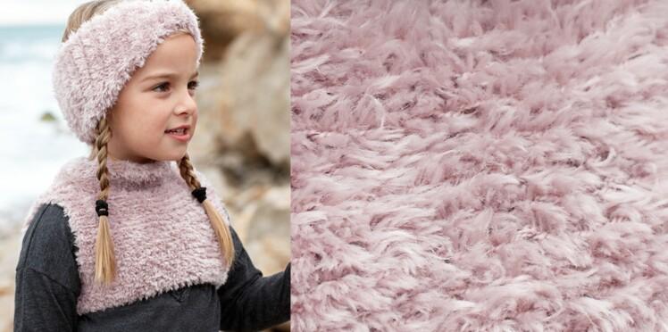Le bandeau enfant au tricot