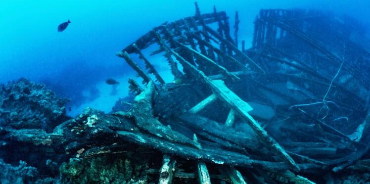 D'incroyables épaves découvertes dans la mer Noire