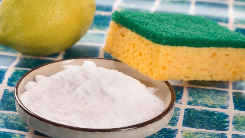 Le bicarbonate de soude, dans la maison, il est magique !