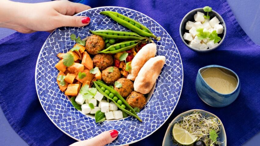Poke bowl méditerranéen