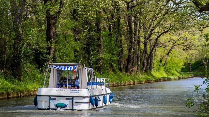 Le Canal du Midi, entre terre et mer