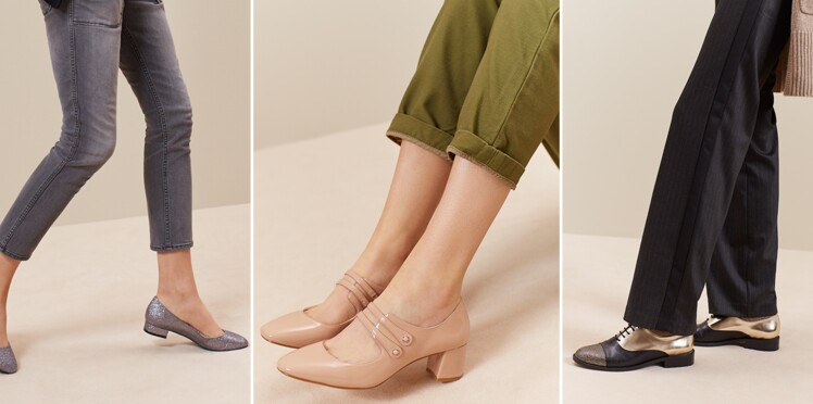 97221d2e38eac6 Quelles chaussures porter après 50 ans ? : Femme Actuelle Le MAG