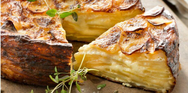 Gâteau de pommes de terre au reblochon