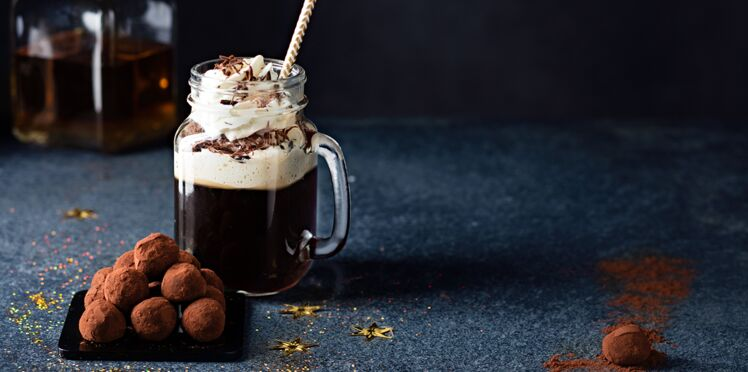 Truffes chocolat whisky et Irish coffee