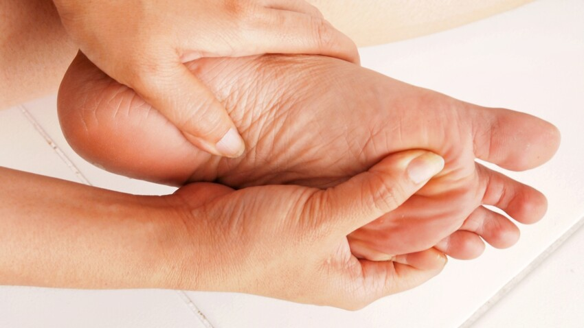 Articulations : j'ai les pieds et les orteils qui se raidissent