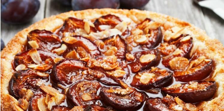 Gâteaux moelleux aux prunes