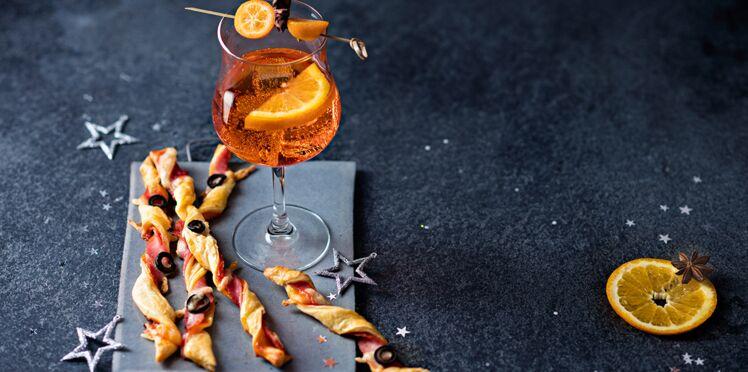Torsades à l'italienne et Spritz de Noël