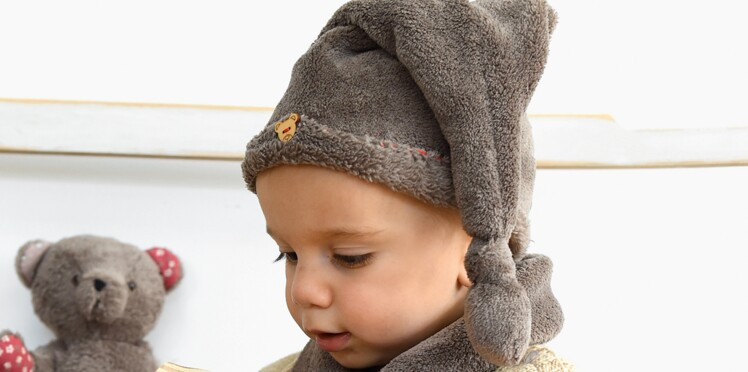 Un bonnet polaire pour bébé