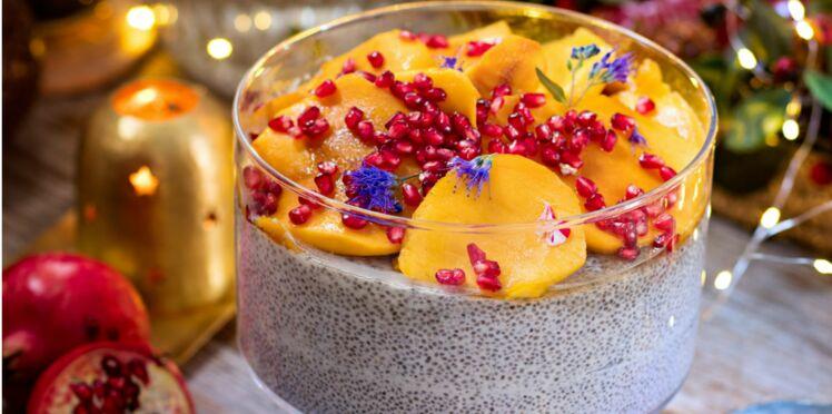 Christmas pudding au chia
