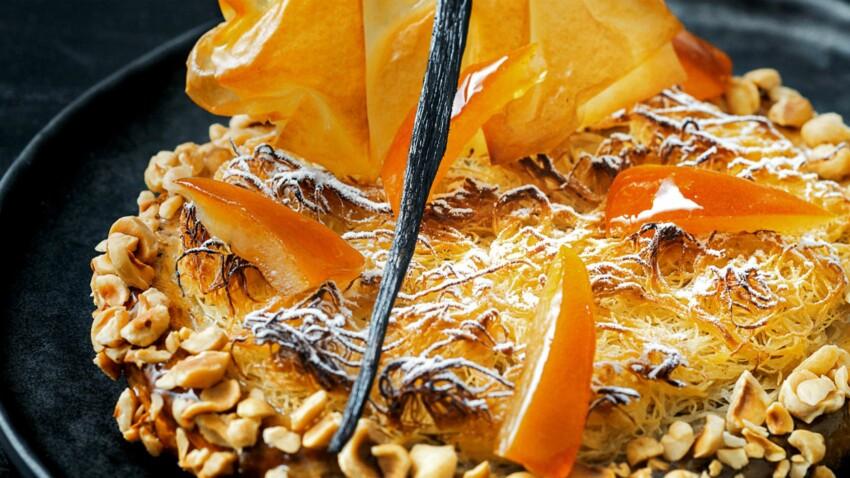 Gâteau des rois aux noisettes de Nicolas Bernardé