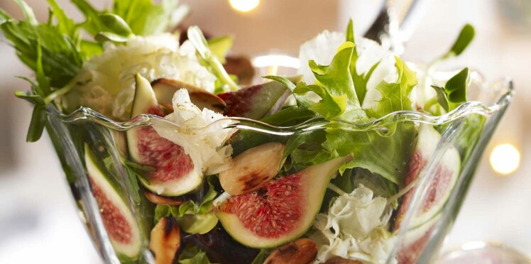 Salade fruitée à la tête de moine