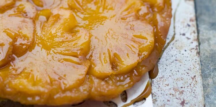 Tatin au gingembre et à l'ananas