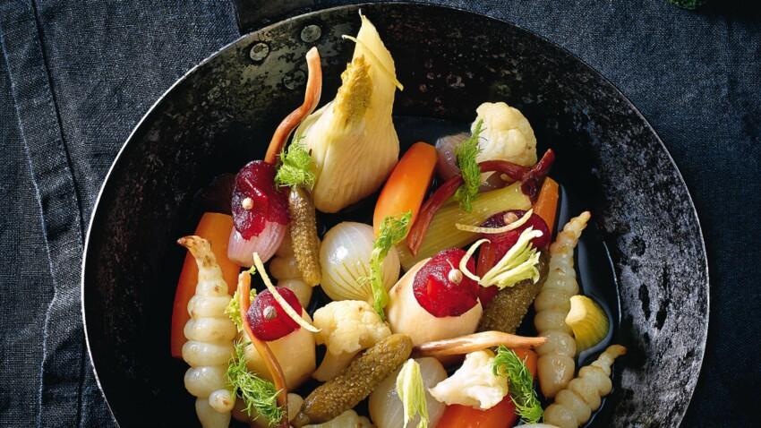 Légumes d'hiver à la grecque d'Olivier Streiff